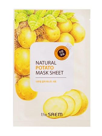 СМ Маска тканевая с экстрактом картофеля Natural Potato Mask Sheet 21мл - фото 5526