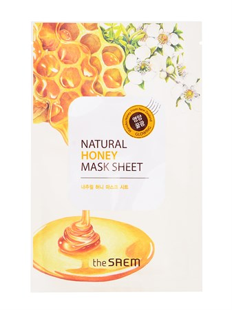 СМ Маска тканевая с экстрактом меда Natural Honey Mask Sheet 21мл - фото 5670