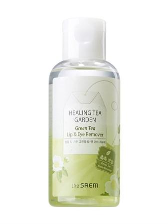 СМ Garden Средство для снятия макияжа с глаз и губ Healing Tea Garden Green Tea Lip & Eye Remover 150мл - фото 5739