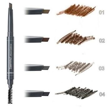 СМ EYE Карандаш для бровей  3 Saemmul Artlook Eyebrow 03 Gray Brown 0.2 гр - фото 5761