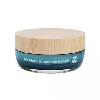 СМ Cleome Маска для лица с экстрактом клеомы двухкомпанентная Cleome Refining Dual Mask Wash Off 50мл - фото 5786