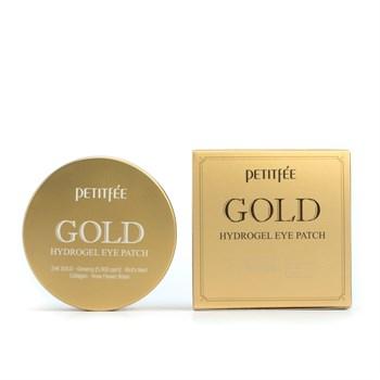 ПТФ Патчи для глаз гидрогелевые с золотом PETITFEE GOLD Hydrogel Eye Patch 1,4гр*60 - фото 5810