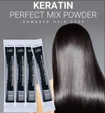 ЛД Keratin Маска для волос с коллагеном и кератином Keratin Mix Powder 3g 3гр - фото 5849