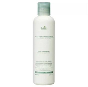 ЛД Шампунь для волос с хной укрепляющий Pure Henna Shampoo 200ml 200мл - фото 5875