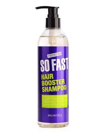 СК So Fast Шампунь для быстрого роста волос So Fast Hair Booster Shampoo 360мл - фото 5925