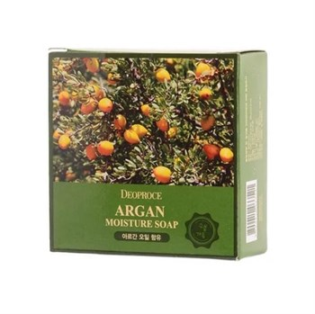 ДП SOAP Мыло с аргановым маслом  DEOPROCE SOAP (ARGAN) 100гр - фото 5963