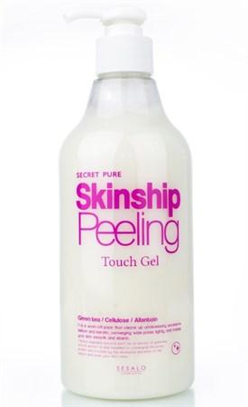 ЕЛЗ SESALO Гель-скатка увлажняющая Skinship Peeling Touch Gel 500мл - фото 6007