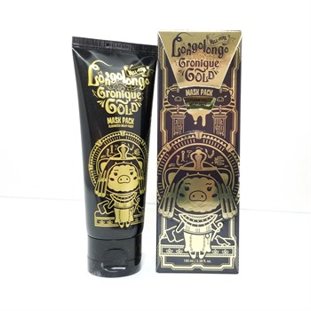 ЕЛЗ Hell-Pore Маска-пленка золотая Hell-Pore Longolongo Gronique Gold Mask Pack 100мл - фото 6013