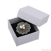 Подарочный футляр под кольцо или серьги (5*5см)
