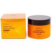 ДП Horse Крем для лица с гиалуроновой кислотой и лошадиным жиром Deoproce Horse Oil Hyalurone Cream 50ml